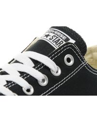 Converse - Black Chuck Taylor Low Sneaker for Men - Lyst
