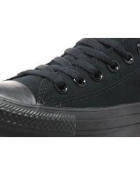 Converse - Black All Star Ox Mono for Men - Lyst