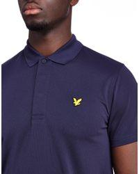 Lyle & Scott - Blue Chambers Polo Shirt for Men - Lyst