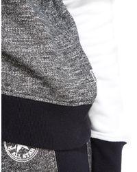 Converse - Gray Panel Sweatshirt - Lyst
