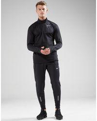 Nike - Black Sphere Element 1/2 Zip Running Top for Men - Lyst
