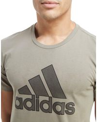 Adidas - Multicolor Hd Lines T-shirt for Men - Lyst