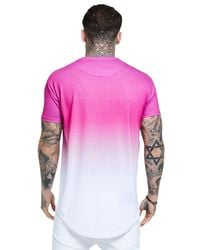 Siksilk - Pink Fade T-shirt for Men - Lyst