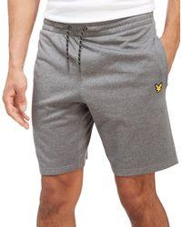 Lyle & Scott | Gray Charlton Fitness Shorts for Men | Lyst