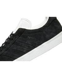 Adidas Originals - Black Gazelle Stitch And Turn for Men - Lyst