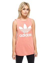 Adidas Originals | Pink Ocean Elements Tank Top | Lyst
