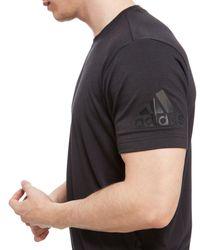 Adidas - Black Prime T-shirt for Men - Lyst