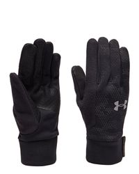 Under Armour - Black Nobreaks Coldgear Infrared Liner Gloves for Men - Lyst