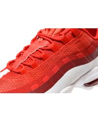 Nike - Red Air Max 95 Ultra Essential for Men - Lyst