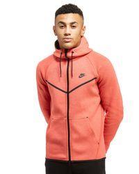 698e0b50f1 Lyst - Nike Tech Fleece Windrunner Hoody in Red for Men