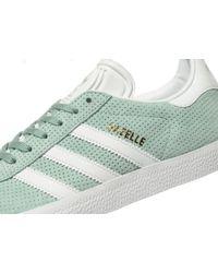 Adidas Originals | Green Gazelle | Lyst