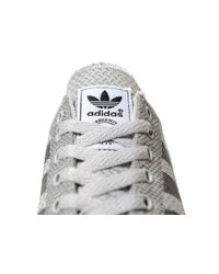 Adidas Originals - Gray La Trainer Weave for Men - Lyst