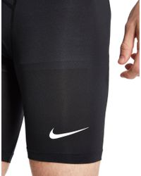 "Nike - Black Pro 6"" Cool Shorts for Men - Lyst"