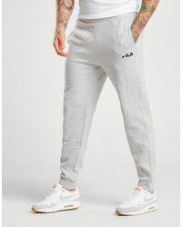 64c7dad06b9d0 Fila Marlow Fleece Track Pants in Gray for Men - Lyst