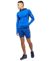 Superdry - Blue Half-zip Hoody for Men - Lyst