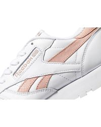Reebok - White Classic Leather - Lyst
