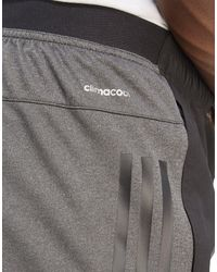 Adidas - Gray Climacool Speed Shorts for Men - Lyst