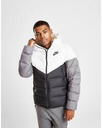 1137e3b3982d Nike Down Fill Bubble Jacket in Black for Men - Lyst