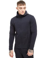 Under Armour - Black Elite Full Zip Hoodie for Men - Lyst