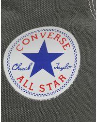 Converse - Gray Chuck Taylor All Star Hi for Men - Lyst