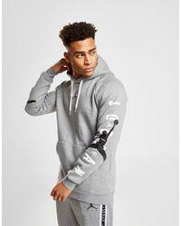 901e65c7e15010 Nike Jordan Jumpman Air Men s Pullover Hoodie in Gray for Men - Lyst