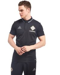 d1ceaa4b290 adidas Originals. Men's Black Northern Ireland 2016/17 Climalite Polo Shirt