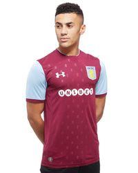 Under Armour - Red Aston Villa Home Shirt 2017/18 for Men - Lyst