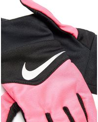 Nike - Black Dri-fit Tempo Running Gloves for Men - Lyst