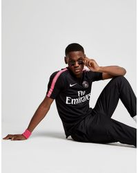 fdad084b21a0 Lyst - Nike Paris Saint Germain 2018 19 Squad Shirt in Black for Men