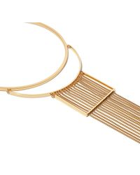 Jenny Bird - Metallic Fallingwater Collar - Lyst
