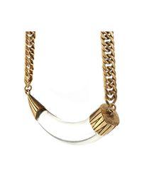 Jenny Bird | Metallic Hark! Horn Collar | Lyst