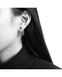 Jenny Bird - Metallic Collins Ave Chain Jacket Earrings - Lyst