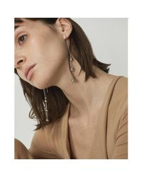 Jenny Bird - Metallic Ziggy High Polish Ball Linear Drop Earrings - Lyst
