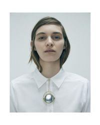 Jenny Bird - Metallic Risen Collar - Lyst