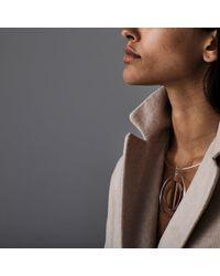 Jenny Bird - Metallic Lennox Collar - High Polish - Lyst