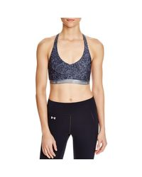 Under Armour | Multicolor Womens Stretch Pattern Sports Bra | Lyst