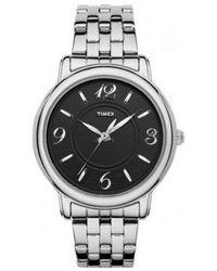 Timex - Multicolor Elegant Classics Black Dial Bracelet Watch T2n623 - Lyst