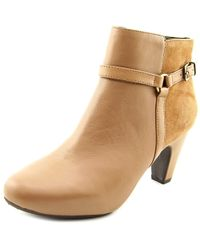 Easy Spirit - Brown Pedrina Women Us 10 Tan Ankle Boot - Lyst