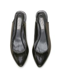 Kenneth Cole - Black Kenneth Cole Step Sling Slingback Flat - Lyst