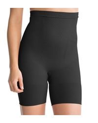 Spanx - Black Slim Cognito Shaping Mid-thigh Body Briefer Plus Size - Lyst