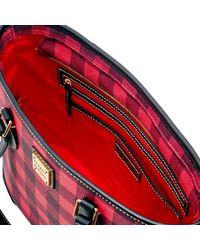 Dooney & Bourke - Red Tucker Richmond Shopper - Lyst