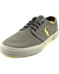 Polo Ralph Lauren | Multicolor Faxon Low Men Us 8 Gray Sneakers for Men | Lyst