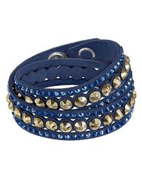 Swarovski - Blue Slake Dot Bracelet - Lyst