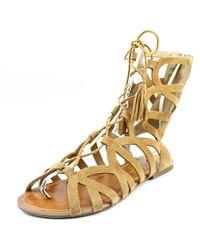 Jessica Simpson - Brown Karalia Women Us 8 Tan Gladiator Sandal - Lyst
