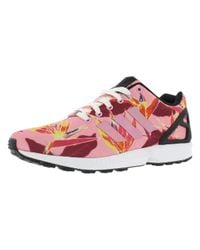 Adidas Originals - Multicolor Zx Flux Floral Print Shoes Size 11.5 - Lyst