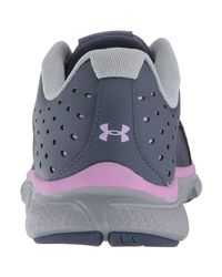 Under Armour - Gray Women Micro G Assert 6 Running Shoes - Lyst
