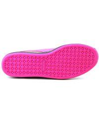 PUMA - Purple Classic Colorburn Men Us 10.5 Gray Sneakers - Lyst