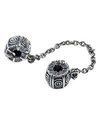 Pandora - Metallic Dreamer Safety Chain W/clip In 925 Sterling Silver - Lyst