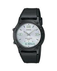 G-Shock - Multicolor White Dial Ana-digi Watch for Men - Lyst