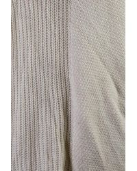 Calvin Klein Jeans - Gray Womens Knit U-neck Pullover Sweater - Lyst